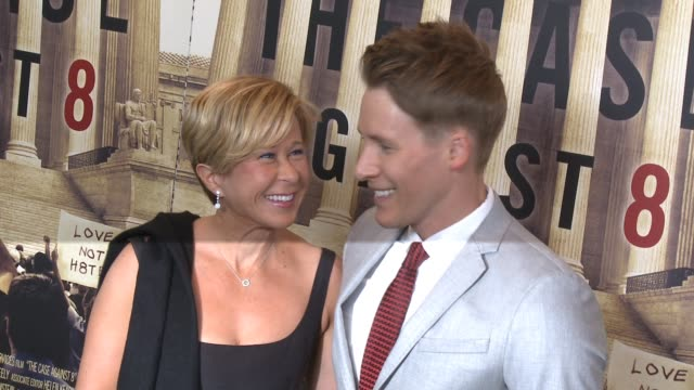 Yeardley Smith and Dustin Lance Black at the HBO Documentary 'The Case Against 8' Los Angeles Premiere at Directors Guild Of America on June 03 2014...