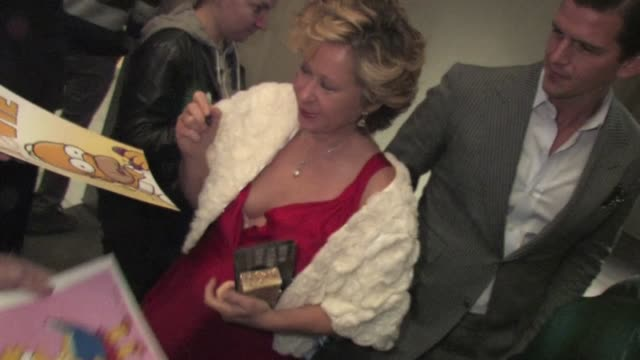 Yeardley Smith greets fans at New Year's Eve After Party in Hollywood in Celebrity Sightings in Los Angeles