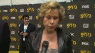 Yeardley Smith on working on the series at The Simpsons 500th Episode Celebration On The Yellow Carpet in Hollywood CA on 2/13/12