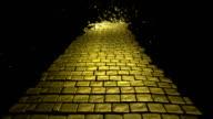 Gelbe Brick Road