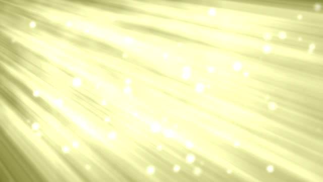 Yellow Motion Background with Light Beams