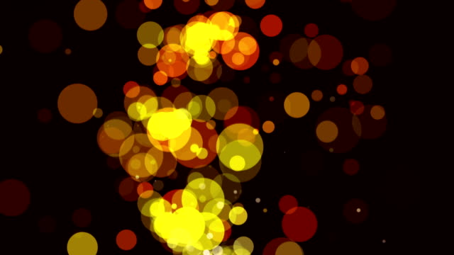 yellow particles