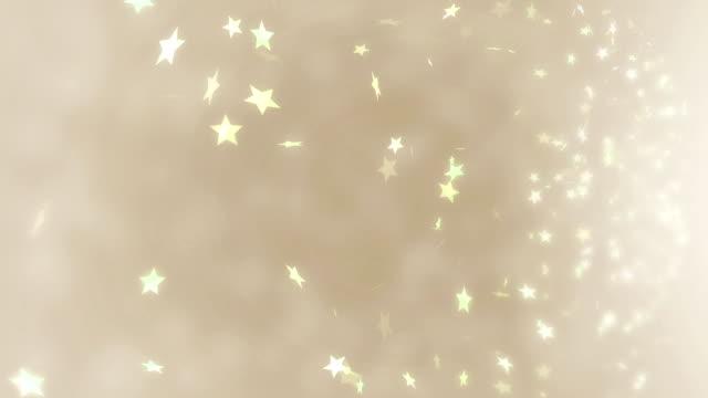 Gelbe Sternen Hintergrund