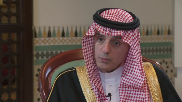 Adel alJubeir interview Adel alJubeir interview SOT re Mosul fighting Sunni extremism Yemen and funeral bombing