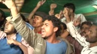 Yemenis both for and against President Ali Abdullah Saleh hailed his first television appearance since since the explosion at his palace as a good...