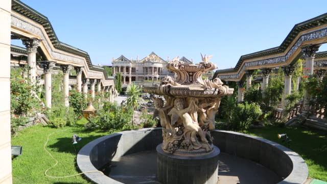 Yerevan, Palace and gardens in the city