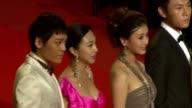 Yi Zi and Li Feier Hao Qin and cast attend the Premiere of 'Chongqing Blues' at the Palais des Festivals during the 63rd Annual International Cannes...