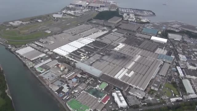 Kyodo News helicopter shows Nissan Motor Co's Oppama plant in Yokosuka near Tokyo Nissan said a day earlier it will halt new car shipments from all...