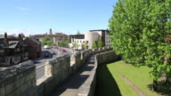 York, city walls, since Roman times, been defended by walls