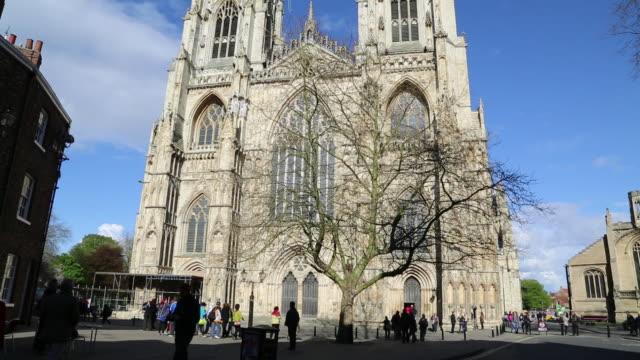 York, exterior view of York Minster, Metropolitical Church of Saint Peter