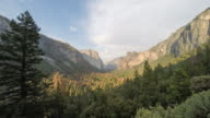 Yosemite Valley Sunset Timelapse