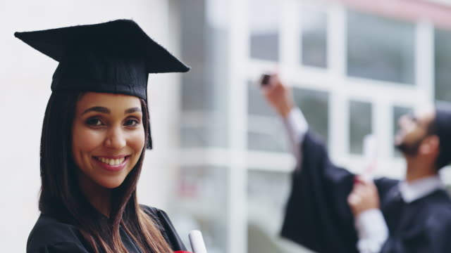 You'll graduate if you stay focused on your long-term goals
