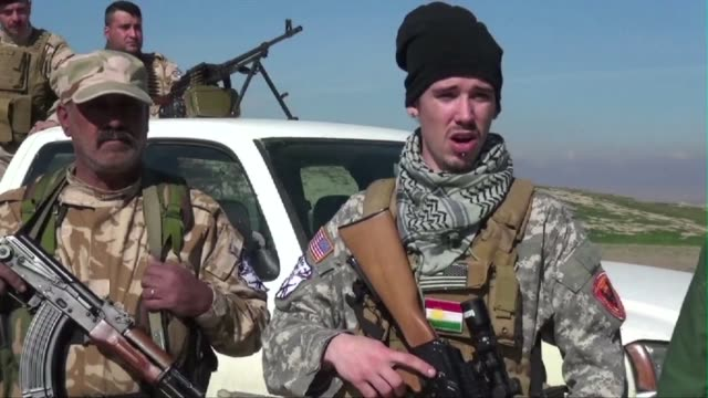 Young American fighters are among the Western recruits who have returned to Iraq to fight the Islamist State jihadist group alongside Dwekh Nawsha a...