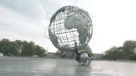 A young asian man break dances in Flushing Queens, NYC - 4k