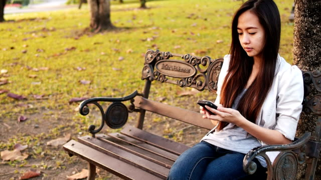 Young business Woman Using A Smart Phone