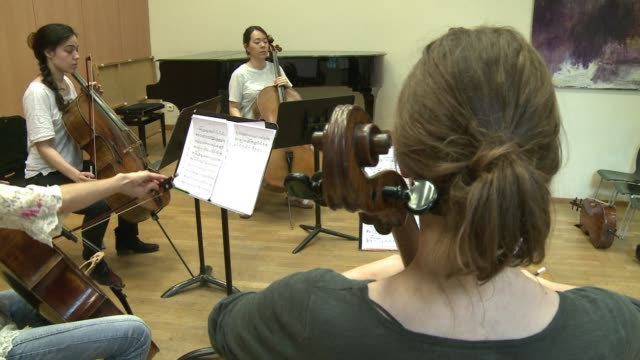 A young French composer has written a cello quintet for the 100th anniversary of the outbreak of World War I for a performance by musicians from five...