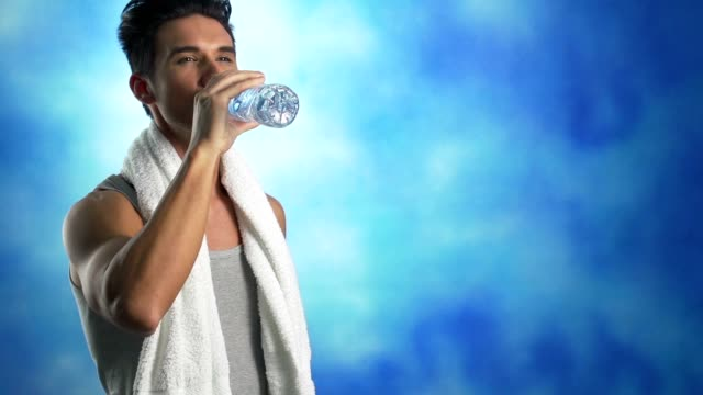 Image result for man drink water