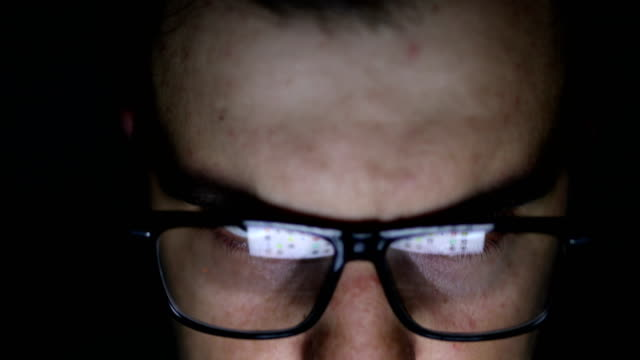 Young man using computer