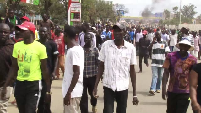 A young man was shot dead in western Kenya as hundreds of opposition supporters again took to the streets demanding reforms ahead of a presidential...