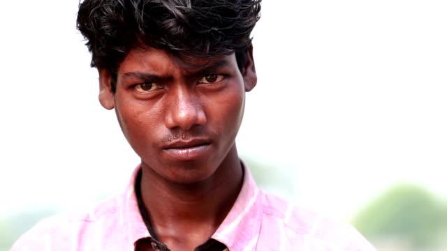 Young Men Close up Portrait