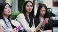 Young Professional Women on Tokyo Street
