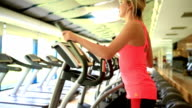 Young Woman At Fitness Center