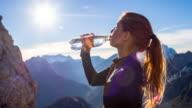 Acqua potabile dopo l'allenamento