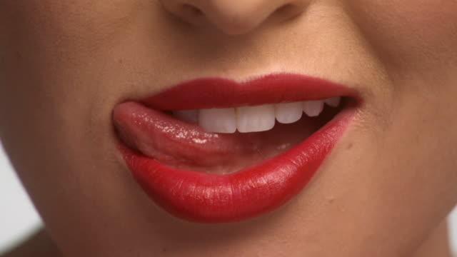 lick lips