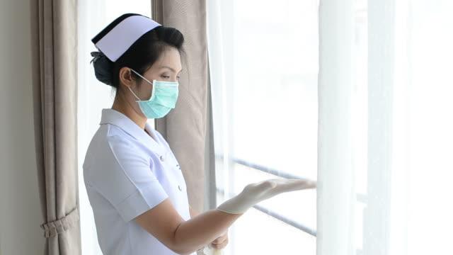 Junge Frau Krankenschwester