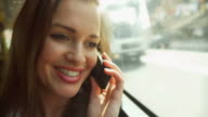 HD: Young Woman On The Phone