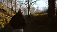 Young Woman Walking Alone