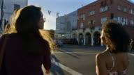 Young women in Venice Beach, CA.