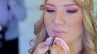 Junge Frauen make-up