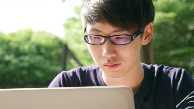 DS:Youngman Using Laptop