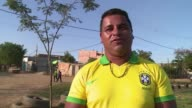 Youngsters from a slum on the outskirts of Sao Paulos Guarulhos airport have thrown down a World Cup gauntlet they have challenged the competition...