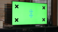 TV Ihre Nachricht mit Chroma-key