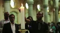 Youth members of the Emmanuel Cathedral in Durban organized a prayer vigil on Sunday to commemorate the recent xenophobic attacks