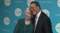 YoYo Ma and Joanne Rogers at UNICEF Children's Chamption Award Dinner Honoring YoYo Ma and Ally and Bill Achtmeyer at The Castle at Park Plaza on...