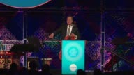 SPEECH YoYo Ma speaks at UNICEF Children's Chamption Award Dinner Honoring YoYo Ma and Ally and Bill Achtmeyer at The Castle at Park Plaza on June 01...
