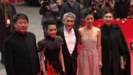 Yu Dong Zhou Xun Hark Tsui Kwai Lun Mei Shi Nansun at Flying Swords of Dragon Gate Premiere 62nd International Berlin Film Festival 2012 at Berlinale...