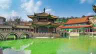 Yuantong temple or Golden temple at Kunming China