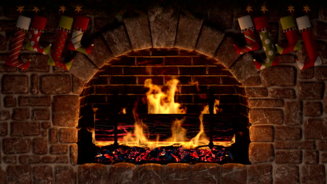 Yule Log. Christmas symbol.