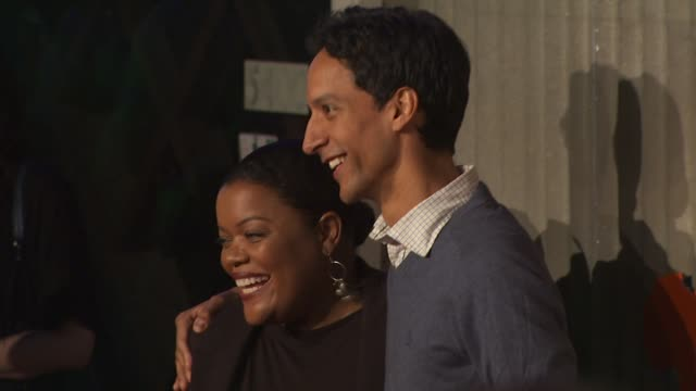 Yvette Nicole Brown and Danny Pudi at the PUMA Presents The African Bazaar at Los Angeles CA