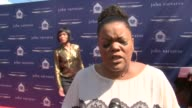 INTERVIEW Yvette Nicole Brown on being a part of the event why she supports the Stuart House at The John Varvatos 10th Annual Stuart House Benefit on...