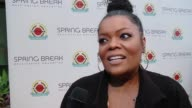 INTERVIEW Yvette Nicole Brown on education at City Year Los Angeles Spring Break in Los Angeles CA
