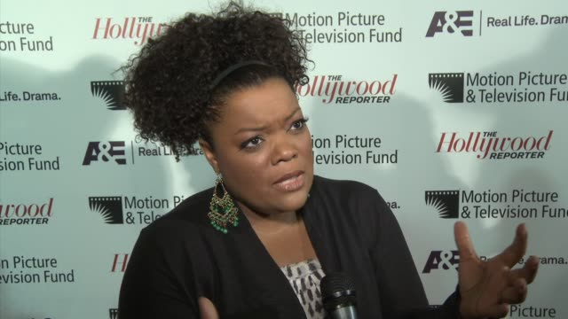 Yvette Nicole Brown on supporting MPTF tonight on MPTF doing important work and on what she's looking forward to tonight at the 'Reel Stories Real...