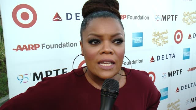 INTERVIEW Yvette Nicole Brown on the opportunity to celebrate everything and MPTF is doing at the George Clooney Hosts MPTF's 95th Anniversary...