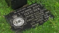 Yvonne Fletcher murder inquiry collapses T19111527 Semley St Leonard's Church Memorial plaque to PC Yvonne Fletcher in grounds of church