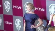Yvonne Strahovski at the 2011 InStyle/Warner Brothers Golden Globe Awards Party at Beverly Hills CA
