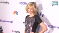 Yvonne Strahovski at the NBC Universal Press Tour AllStar Party at Los Angeles CA
